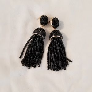 Baublebar Piñata Tassel Earrings- Black